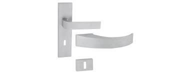 Kľučky na interiérové a exteriérové dvere