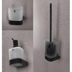 Kúpeľňové doplnky NIKAU BLACK