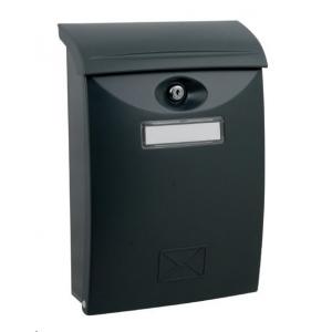 Plastové poštové schránky