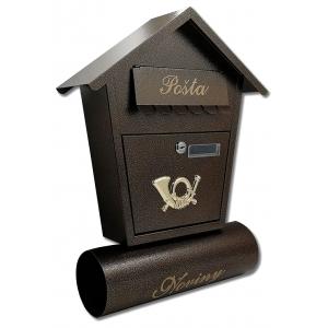 Poštové schránky s boxom na noviny